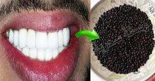 ضع هذه الحبيبات في فمك 3 دقائق فقط ولن تصدق ستبيض أسنانك وتزيل الإصفرار