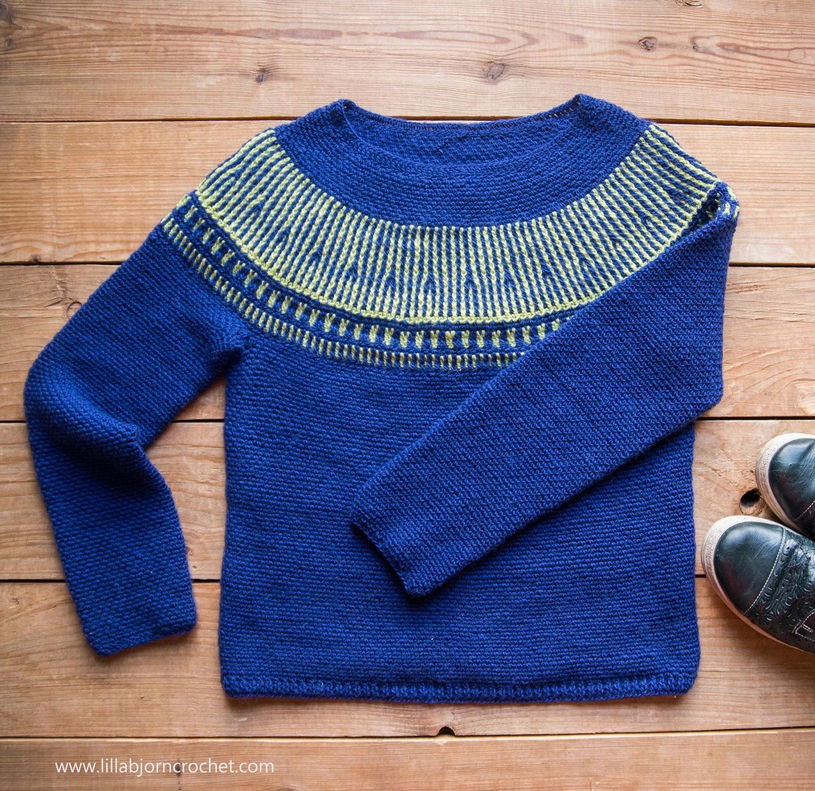 3fba10982332 Esja Sweater and Crochet Brioche  new pattern release