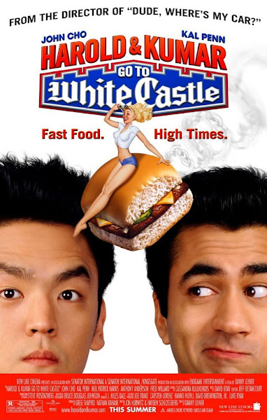 Poster of Harold and Kumar Go to White Castle 2004 UnRated 720p [Hindi-English] BluRay Dual Audio