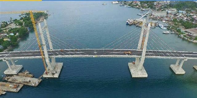 Besok, Jokowi Resmikan Jembatan Terpanjang di Indonesia Timur