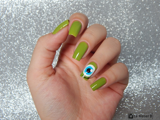 nail art monsters inc