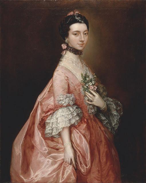 Thomas Gainsborough (1727-1788) - Мэри Литтл, позже Леди Карр