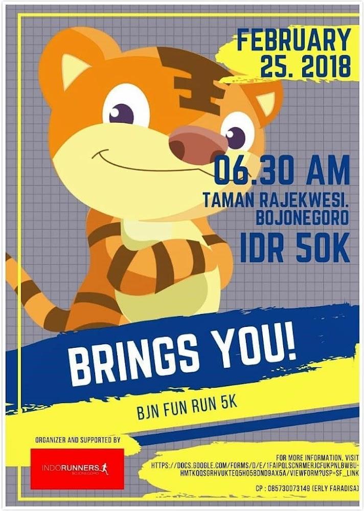 Bojonegoro Fun Run • 2018