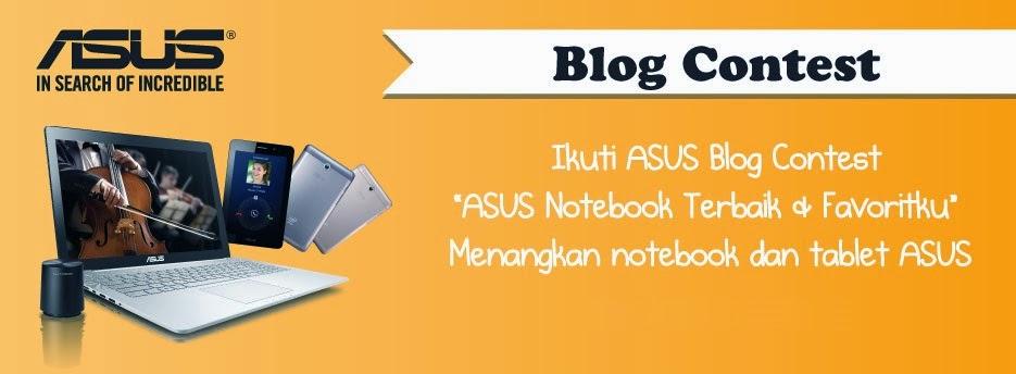 ASUS Notebook Terbaik dan Favoritku