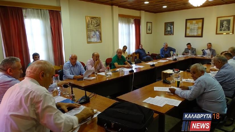 Προς ψήφιση ο Προϋπολογισμός 2019 του Δήμου Καλαβρύτων