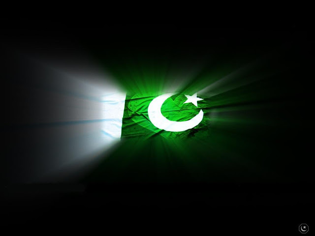 Independence Day Mobile Wallpapers: 14th August Pakistani Flags