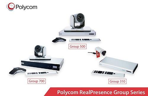 thiết bị hội nghị truyền hình Polycom Group Series