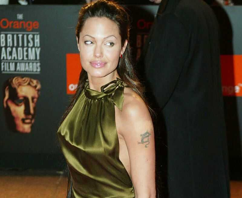 Tattoo Blog: Angelina Jolie Tattoos In Wanted