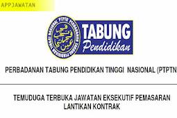 Temuduga Terbuka di Perbadanan Tabung Pendidikan Tinggi Nasional (PTPTN) - 31 Januari 2019