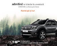 Castiga o excursie de 5 zile prin Carpatii Orientali cu Dacia Duster