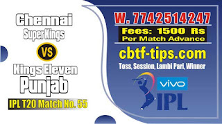 IPL Bhavishyavani 2019 55th Match Prediction Tips by Experts CSK vs KXIP