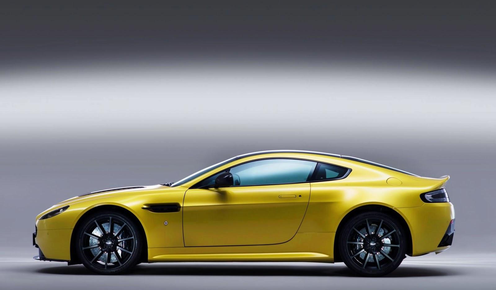 Aston Martin V12 Vantage S Humungous Engine In Quite A Small Car