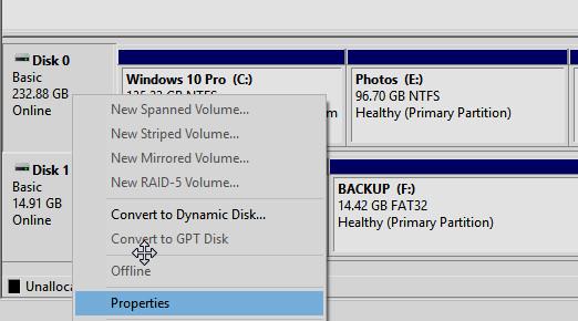 4 طرق لمعرفة نوعية الهارد ديسك SSD أو HDD فى ويندوز 10