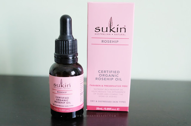 Review Sukin Certified Organic Rosehip Oil Indonesia