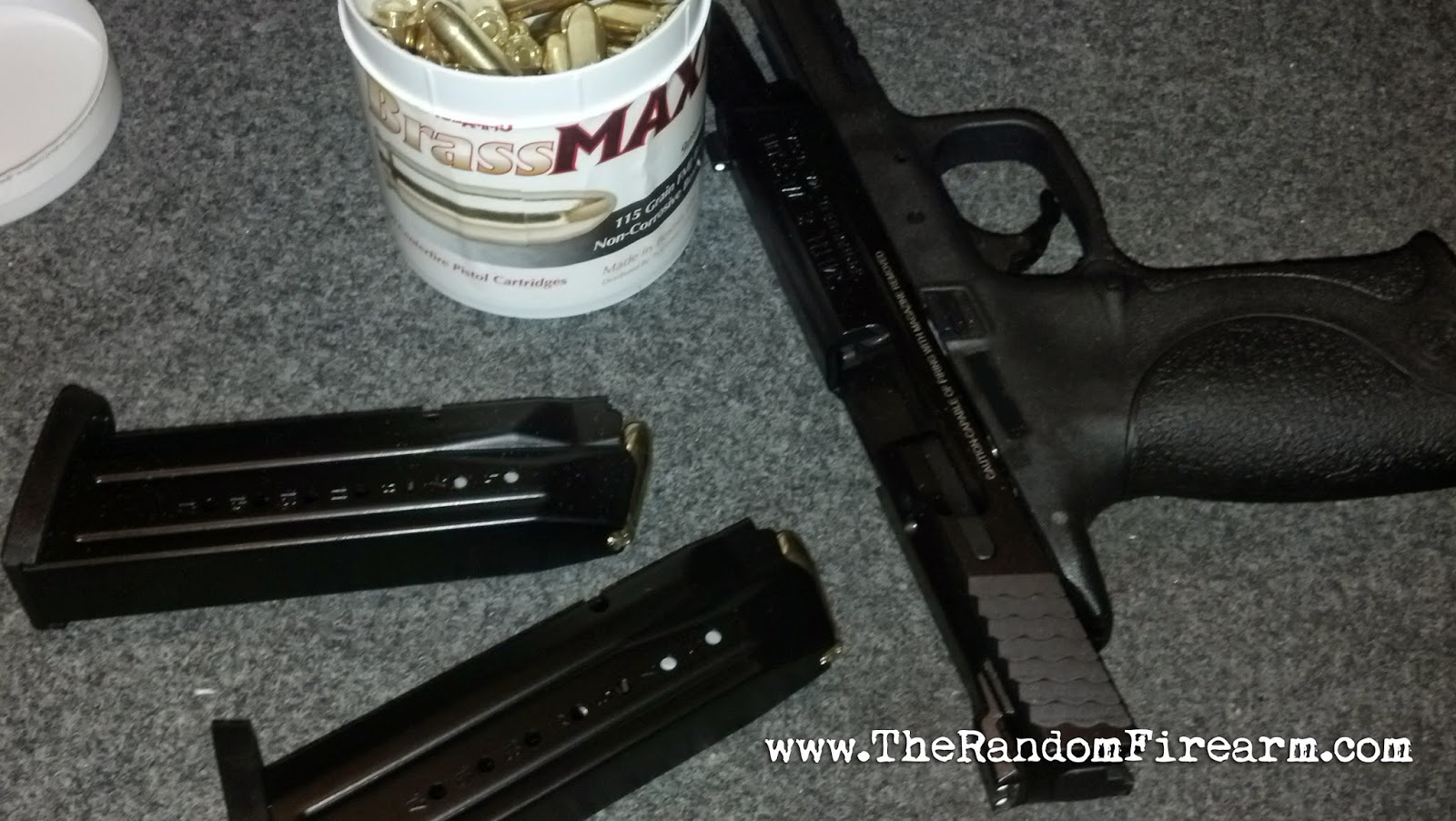 sccy cxp2 smith and wesson M&p9 tulammo brassmaxx steel core magnetic ammo 9mm review