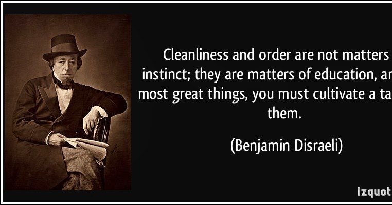 cleaneness is closed to bodlyness