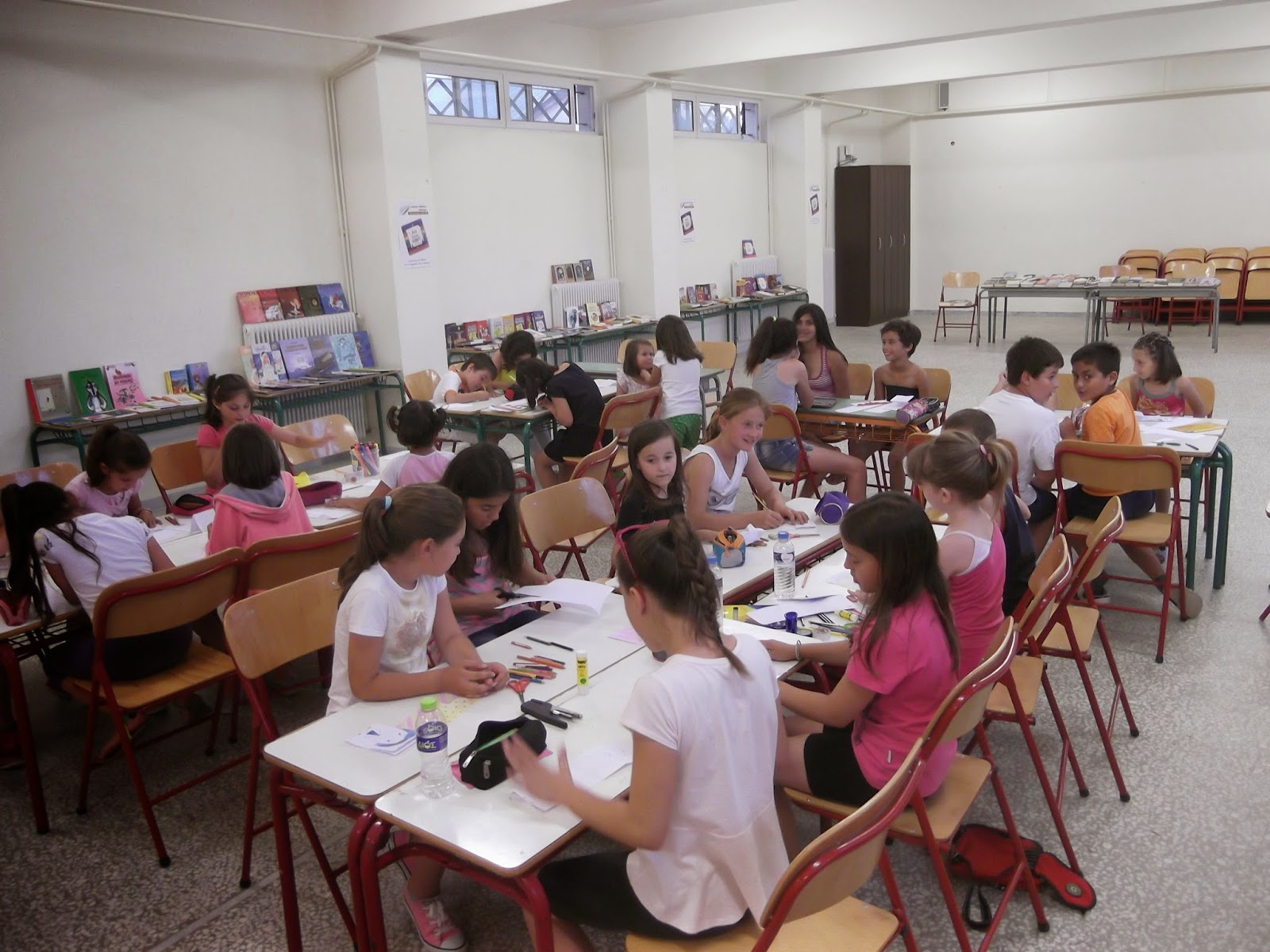 Anna Bonarou, Αννα Μπονάρου, εικαστικό εργαστήρι, craft workshop