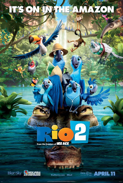 Poster Of Rio 2 (2014) 720p Hindi BRRip Dual Audio Full Movie Download