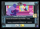 My Little Pony Attitude and Pizzazz! Canterlot Nights CCG Card