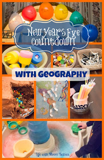 New Year's Festivities and a Geography Countdown