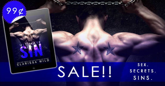 On Sale for a Limited Time: Ultimate Sin (A Dark Romance) by Clarissa Wild!