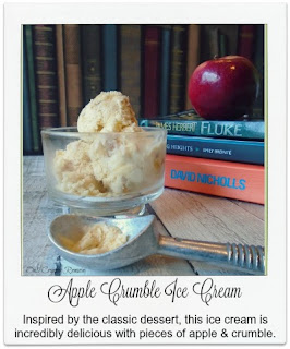 Inspired by the classic dessert, this ice cream is incredibly delicous, with chunks of apple in a toffee sauce and crumble pieces combined in the custard based ice cream.