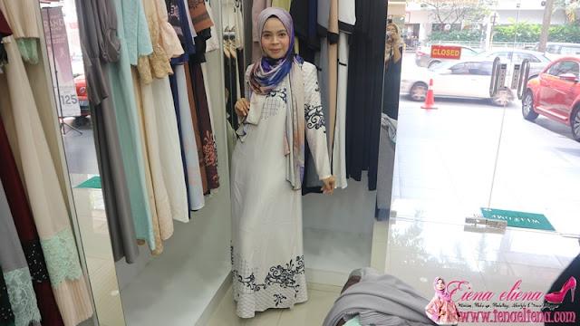 Shopping Raya di Butik Haqqi TTDI Kuala Lumpur