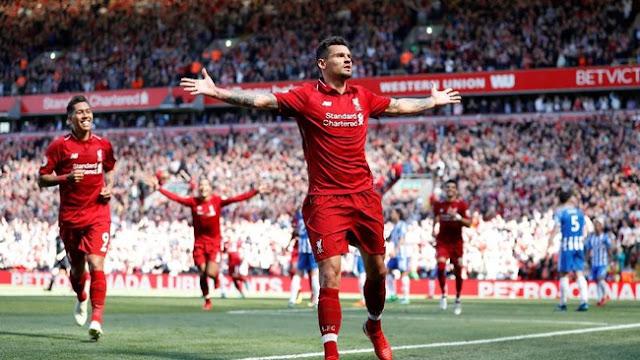 The Reds Tak Terkalahkan di Anfield Musim Ini