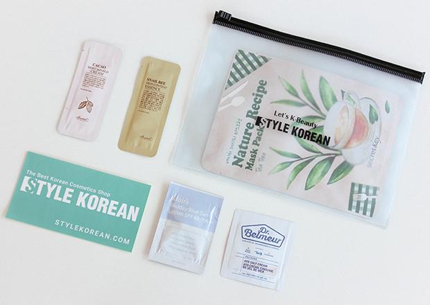 Produtos de beleza coreano da loja Style Korean