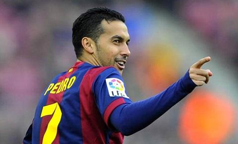 Pedro được xem là dự bị chiến lược ở Barcelona.