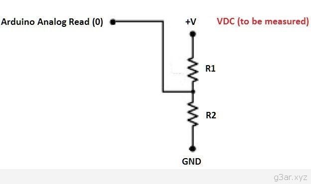 Battery monitor and Relay Control with Arduino 1