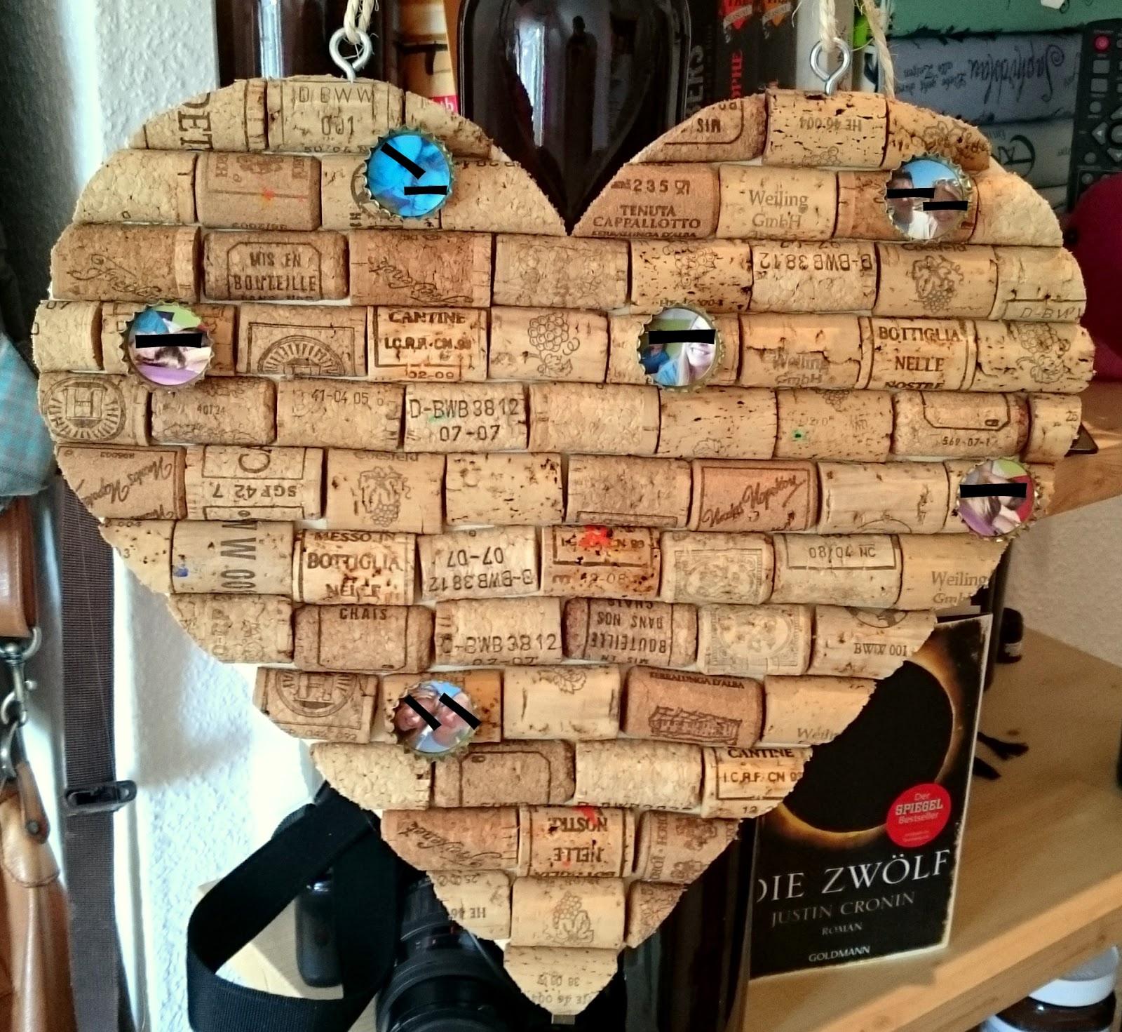 Bekannt The Smart Part Of Art : Weinkorken-Pinnwand BQ66