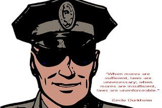 """""""Когато моралът е достатъчен, законът е ненужен;когато моралът е недостатъчен, законът е неприложим."""""""