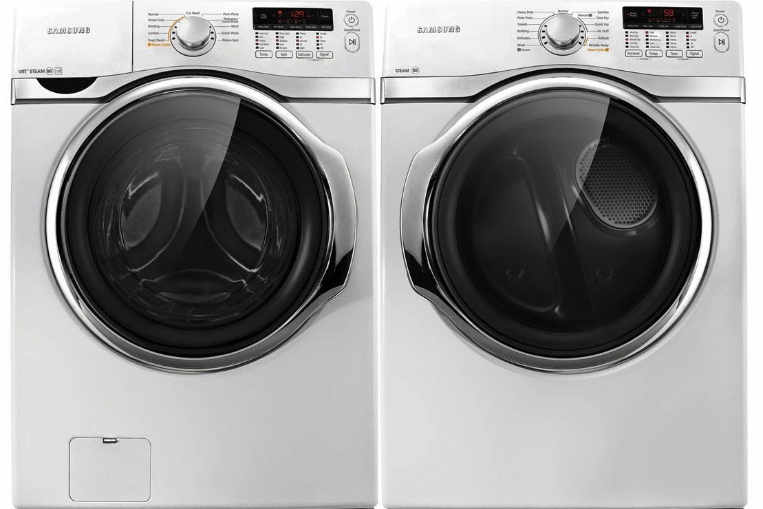 samsung 39 cf steam washer and electric dryers