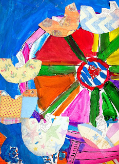 Artfully Me Ferris Wheel Art Project For Kids
