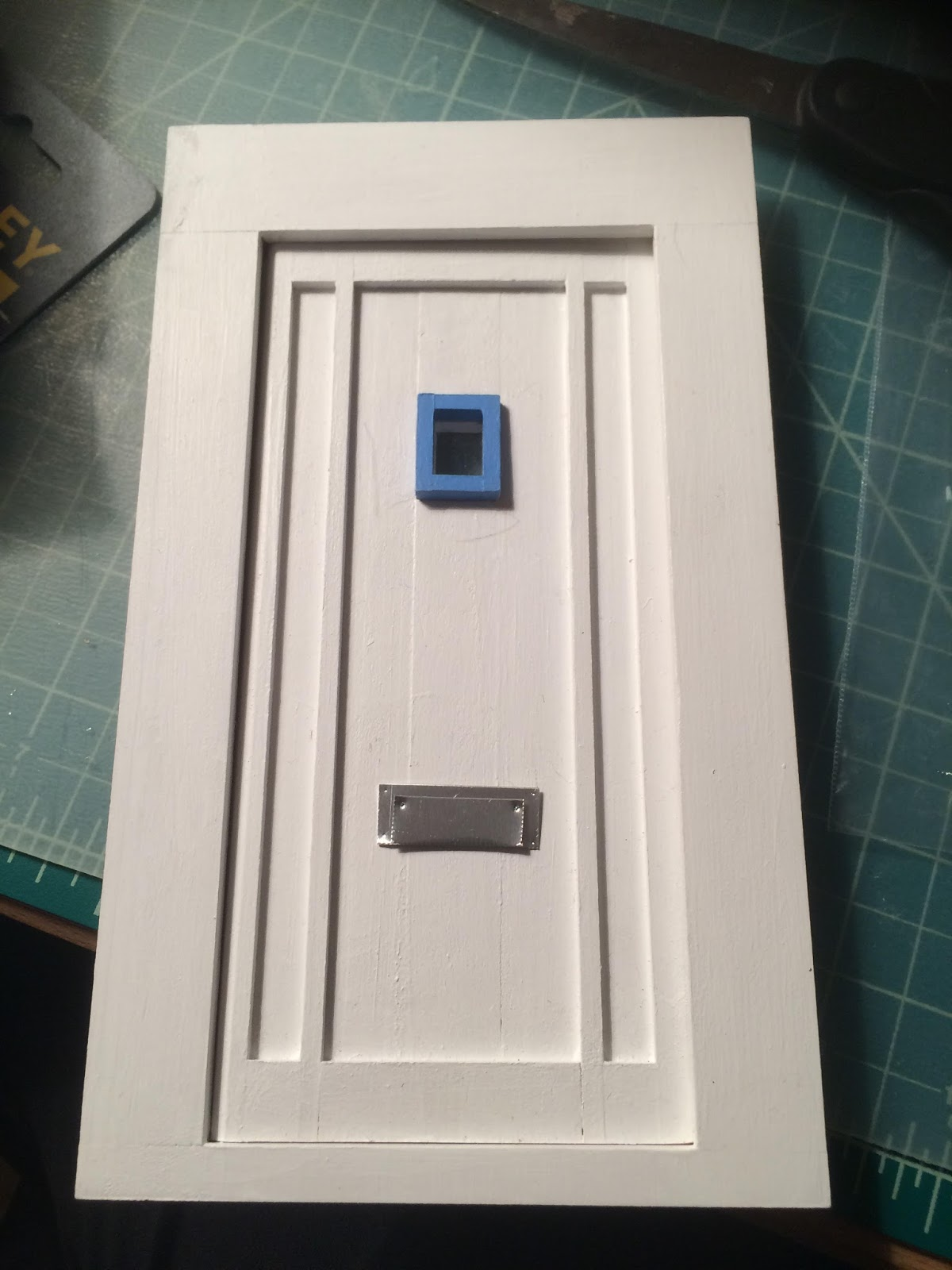 I realized that my Malibu dollhouse door needed a mail slot. (It also needs a door knob but thatu0027s my next project). & Penelopeu0027s Dollhouses