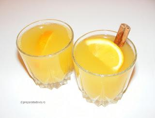 Ceai de ghimbir cu portocale si scortisoara retete ceaiuri,