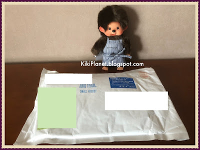 kiki monchhichi chimutan, pouch, tee-shirt, limited edition, The Plus Secret café, tokyo, japon