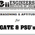 Reasoning and Aptitude PDF for GATE, PSUs, etc.