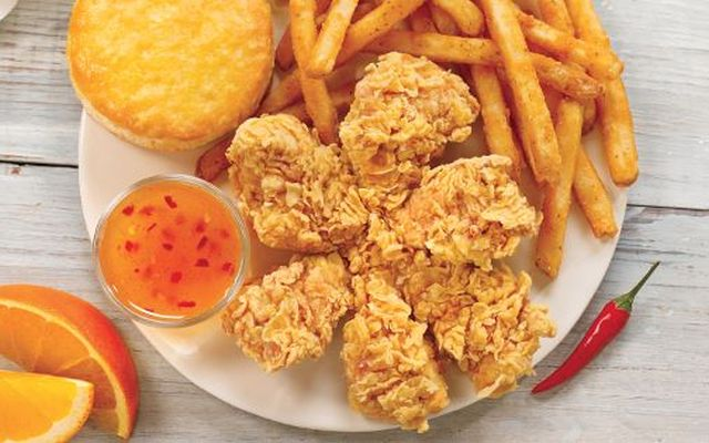 Popeyes Debuts New Flower-Shaped Magnolia Blossom Chicken ...