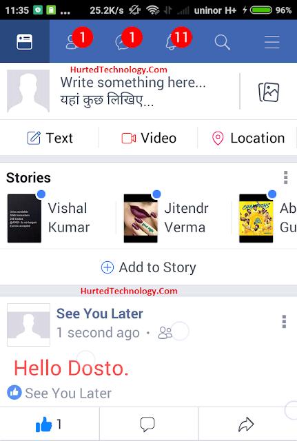 facebook par rang birange post kaise likhe