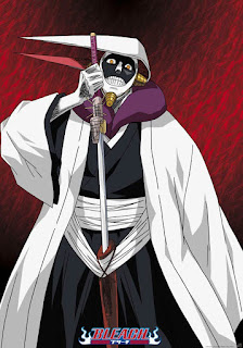 Capitão Kurotsuchi - olha onde ele bota a espada!