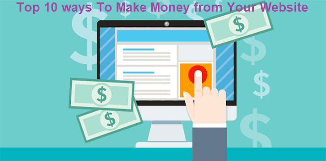Top 10 ways to make money with your blog