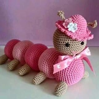 Los amiguirumis y el tejido crochet