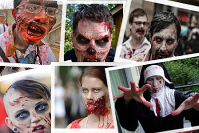 Zombie Make up: mostrateci che sapete fare!