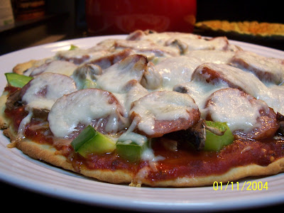 Gluten Free Homemade Pizza Crust and Sauce, gluten free