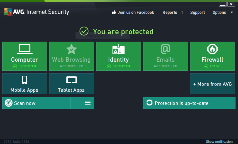 AVG AntiVirus 2014 Product key