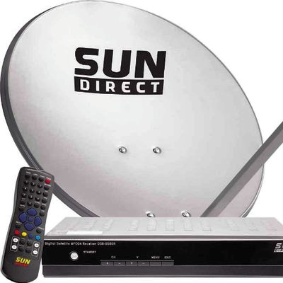 New Sun Direct Packages and Channel List With Price Wile Airtel DTH