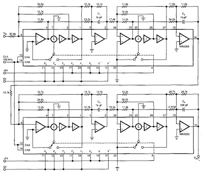 Wiring    panel  Antialiasing And    Sync    Compensation Filter