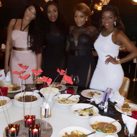 ebube nwagbo birthday party